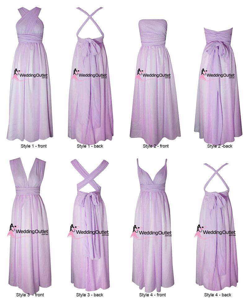 Eight Way Twist And Wrap Bridesmaid Dress Style U101