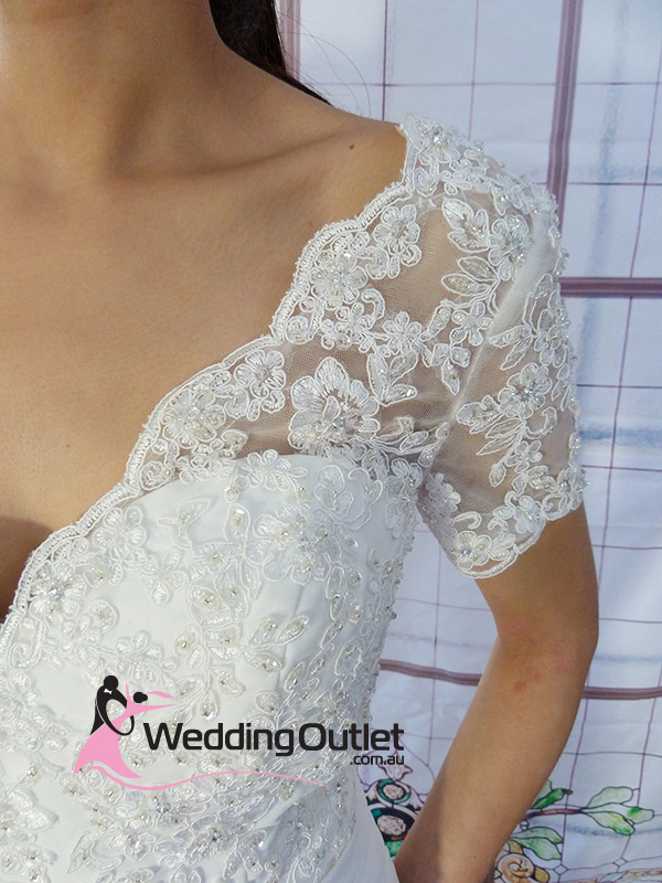 vintage lace custom made wedding dresses australia avery - how to have a cheap beach wedding