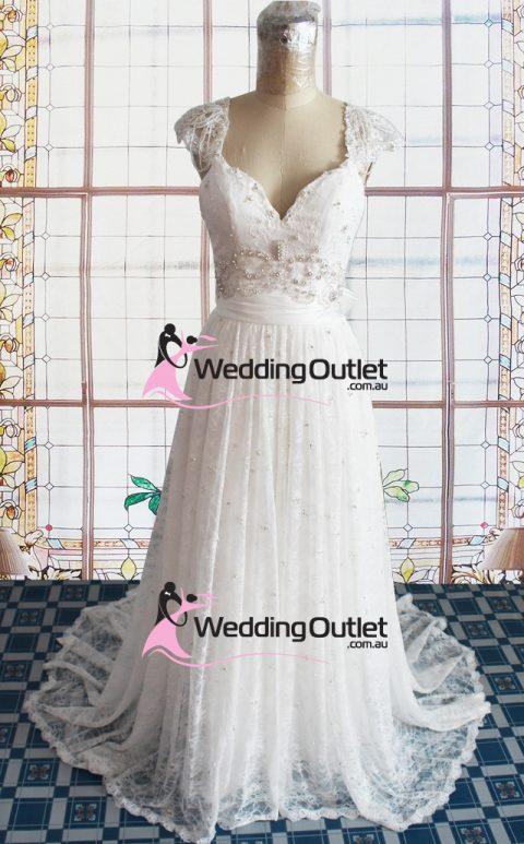 Bianca Vintage Lace Wedding Dresses Elegant