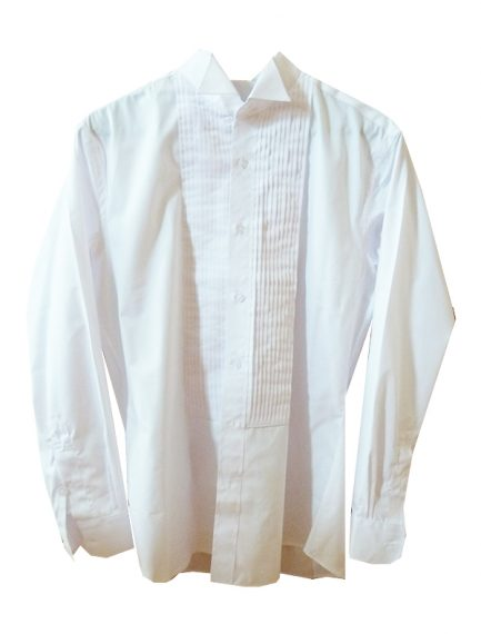Tailored White Wedding Shirt