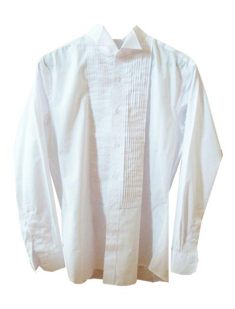 Tailored White Wedding Shirt