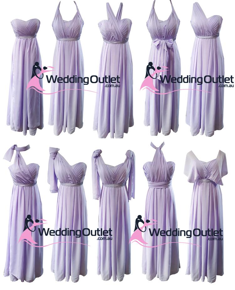 a38aa1722b69 Convertible Wrap Dress Style #UU101 - WeddingOutlet.com.au